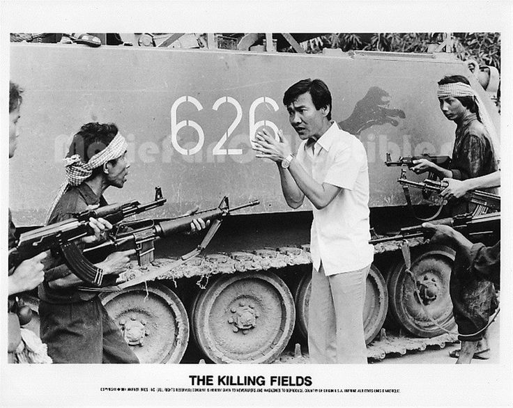 The Killing Fields 8x10 Photo Haing S. Ngor captured by Khmer Rouge