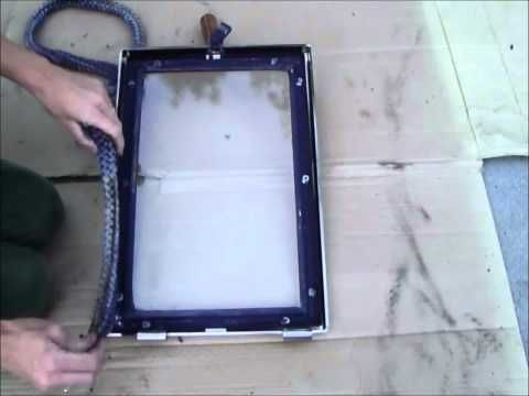 How To Replace A Wood Stove Door Rope Gasket How To