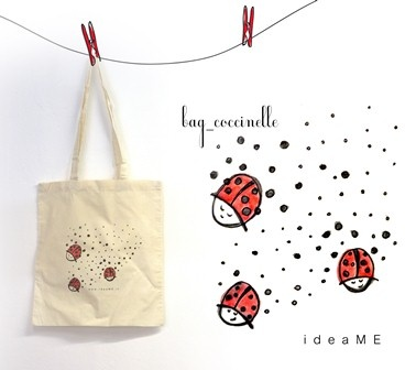 shopping bag with textures and illustrations handmade by ideaME // for info contact us on info.ideame@gmail.com // or  http://www.facebook.com/pages/IdeaME/254439651300545?ref=hl