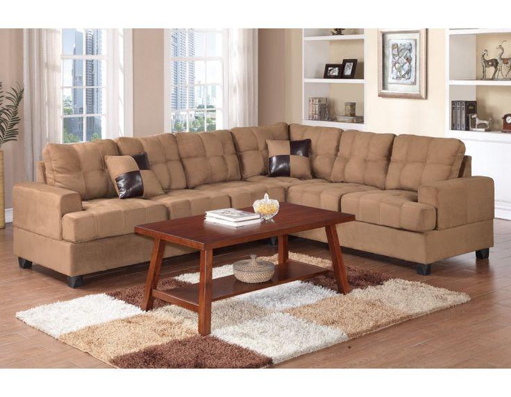 Microfiber Sofa Set SaddleSectionals