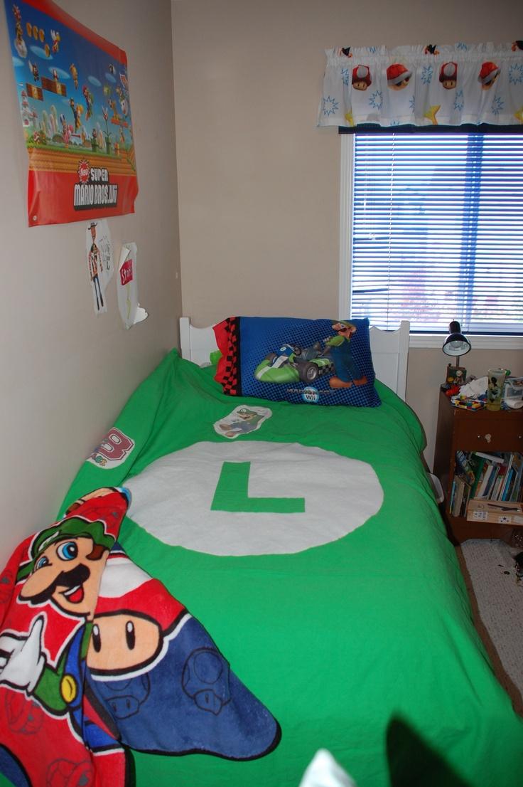 mario bros luigi bedroom mario pinterest