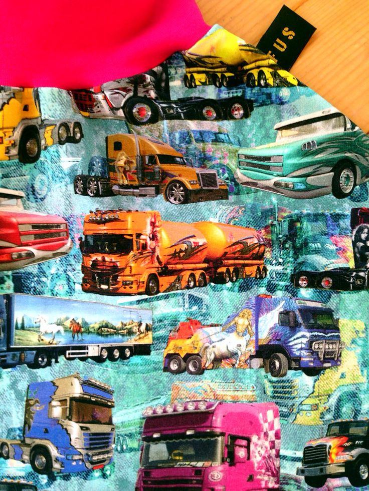 FUS-skjørt med lastebiler