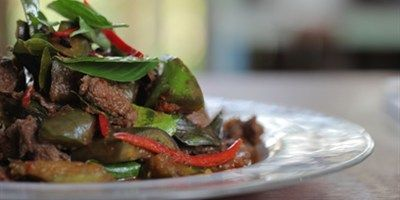 Red Curry Beef Stir-fry