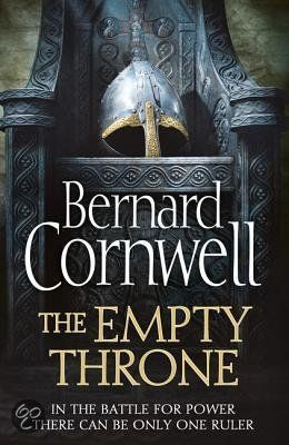 The Empty Throne - Bernard Cornwell, instillation #8 of the epic Saxon Tales! Love these books.