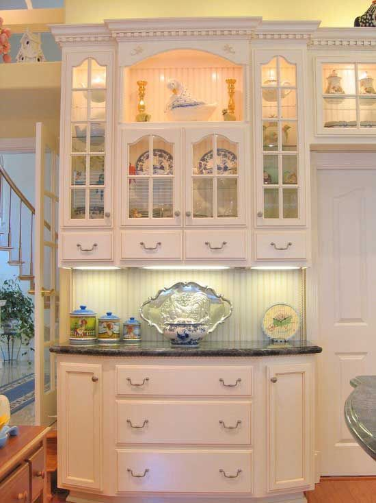 181 best images about shabby chic kitchen on pinterest for Beautiful built in kitchens
