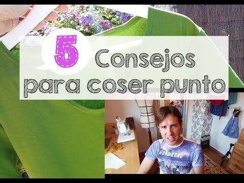 CONSEJOS PARA COSER TELA ELÁSTICA - Aprender a coser - YouTube