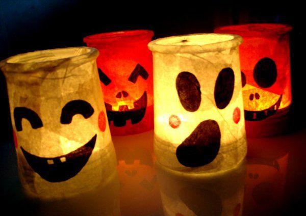 Un photophore Halloween est l'objet indispensables pour les soirées de fête qui approchent. Egailler les longues soirées d'automne et faire entrer la joie
