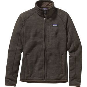 Patagonia couldn't have gone with a better name for the Men's Better Sweater Fleece Jacket. After one day in the Better Sweater, you'll probably throw out your old cotton sweatshirt. After all, why would you wear fleece every day in the mountains and then go back to cotton in town? Despite the casual cut and style, this soft Patagonia fleece easily makes the cut for technical wear. Midweight fleece makes this piece ideal as both a midlayer and a casual around-town top.