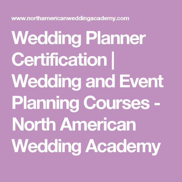 25 best ideas about wedding planner courses on pinterest