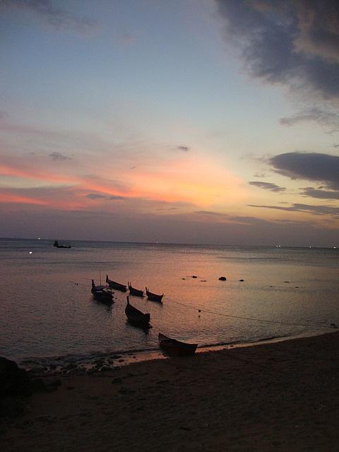 Dusk at the beach, Koh Lanta, Thailand Thailand travel