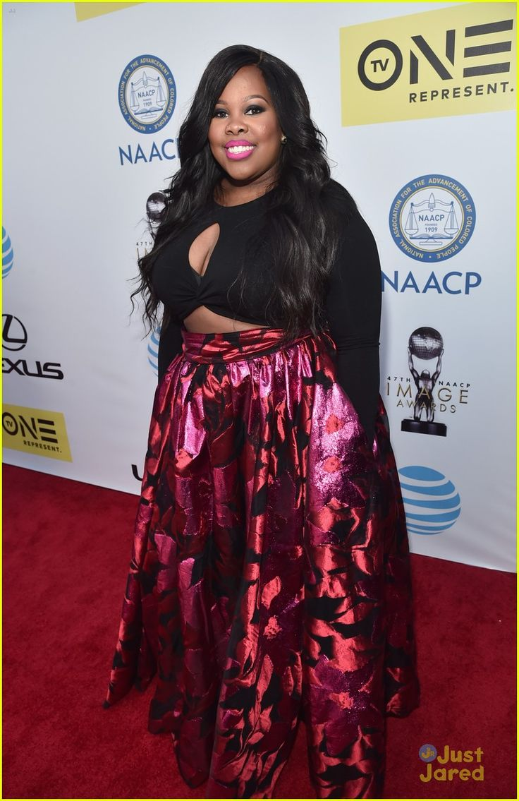Amber Riley at the NAACP Image Awards 2016
