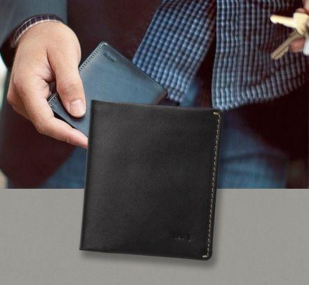 Idealny portfel na każdą okazję w eleganckim czarnym kolorze. Portfele Bellroy do kupienia na www.le-premier.pl