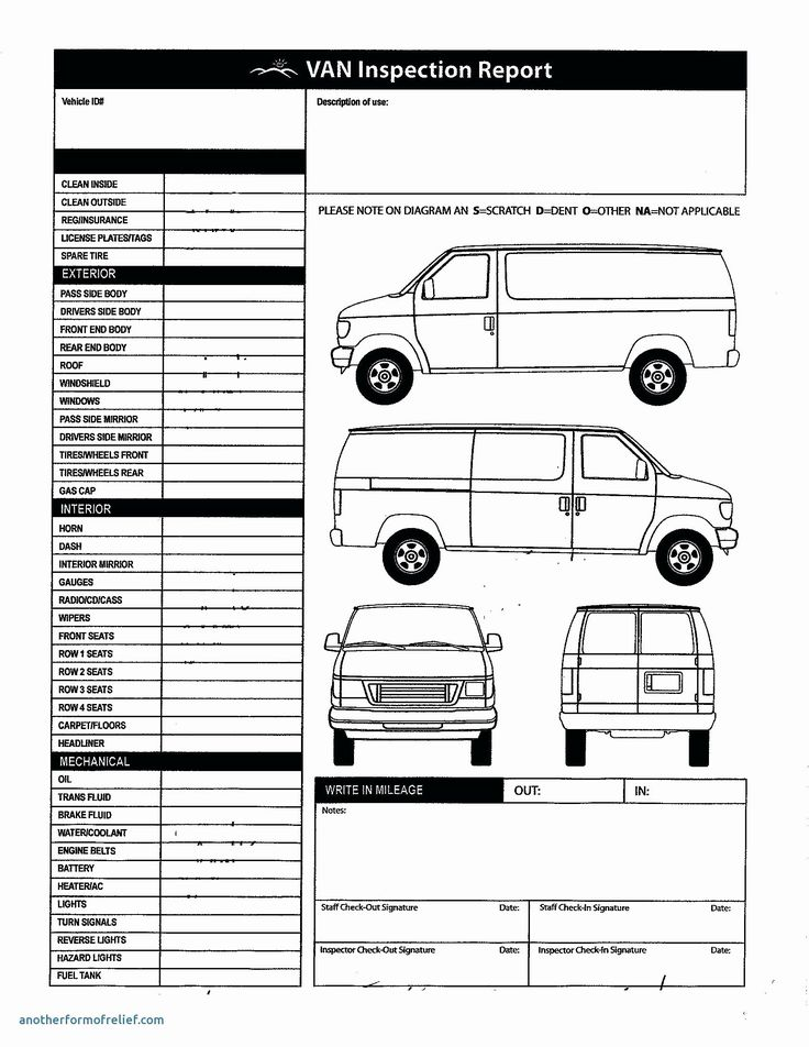 Truck Inspection form Template Best Of Template Vehicle