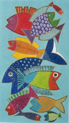 Pescado (hand painted canvases) Product No: 24226 Supplier Code: LB-90 Designer/Artist: Laurel Burch Our Price: $ 170.00 SALE PRICE: $ 144.50 - (SAVE 15 %) 9x16 18M