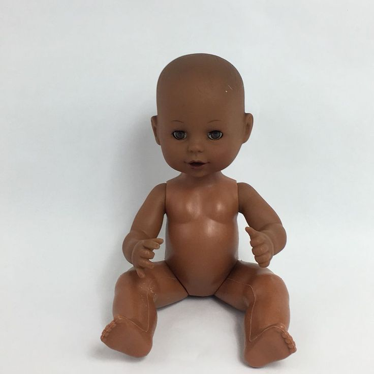 Cititoy African American Doll 1996 No Clothes 11 Inches Sleeper 6131 #Cititoy #Dolls
