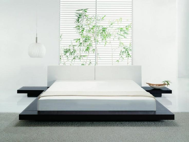 Tokyo Platform Bed + 2 Nightstands