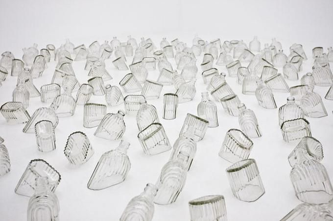 Mona Hatoum: Detail of Drowning Sorrows