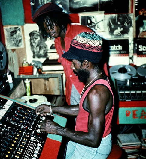 LEE PERRY in session, '76...