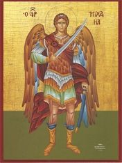 Orthodox icon of Archangel Michael (3)