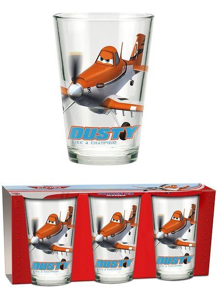 Hauskat Lentsikat-juomalasit innostavat järjestämään mehukestit! Pakkauksessa on kolme samanlaista juomalasia, jotka kestävät konepesun. Korkeus 11 cm.