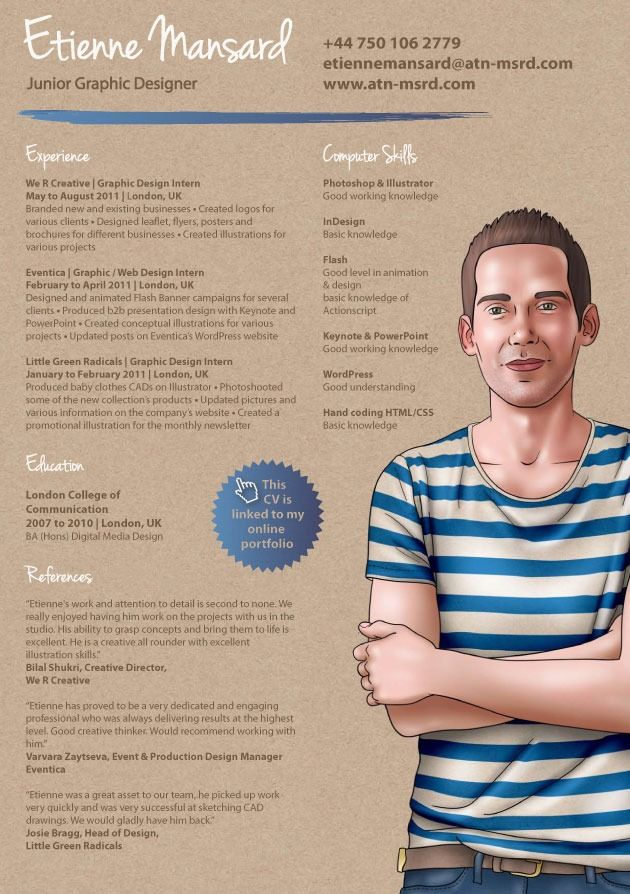 23 best Resume Design images on Pinterest Graph design, Resume - junior graphic designer resume