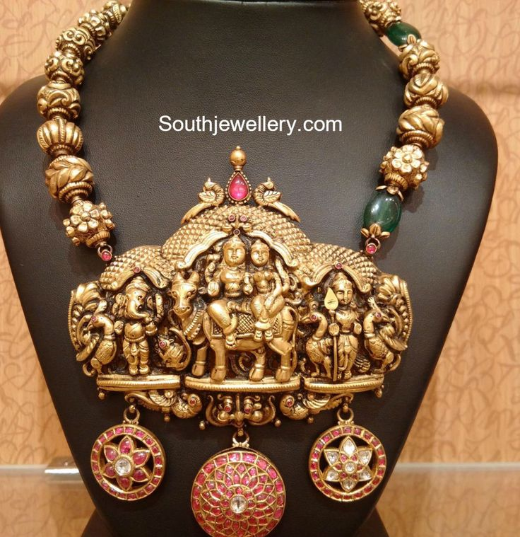 Top 25 Indian Antique Jewellery Designs For Women: The 25+ Best Ideas About Temple Jewellery On Pinterest