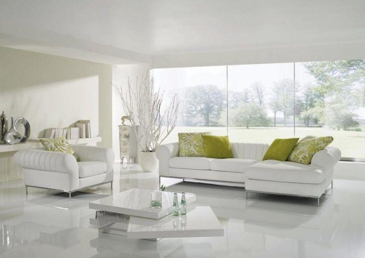 Wineo Laminat color Hochglanz weiß 1-Stab Diele