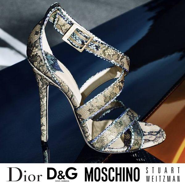 Modely svetoznámych značiek na Brands4u ... :) #shoes #moschino #dior #dolce