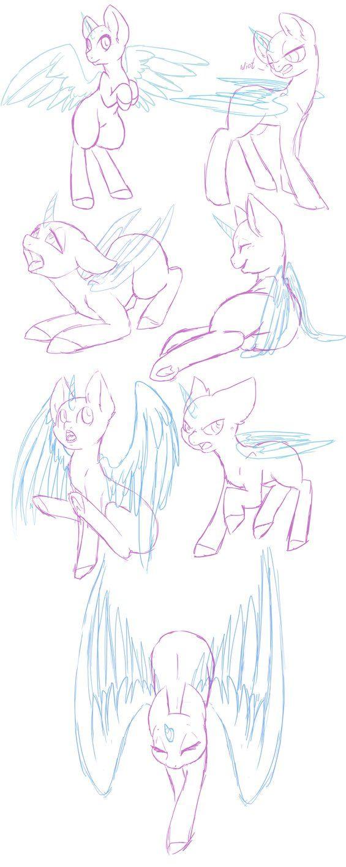 Pony Study 13  by katze-des-grauens
