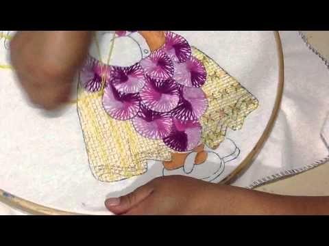 Bordados fantasia on Pinterest   Fantasia, Youtube and Watches