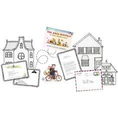 Jolly Postman Letter Writing Activity