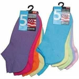 Wowerat Lot de 10 paires de chaussettes basses