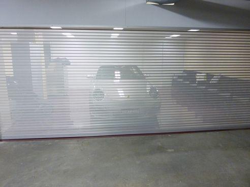 See Through Garage Roller Door
