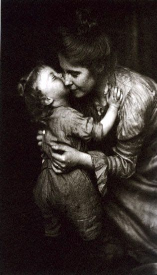 Frances S. and Mary E. Allen --  Eleanor B. Stebbins with Marion, 1903-1904