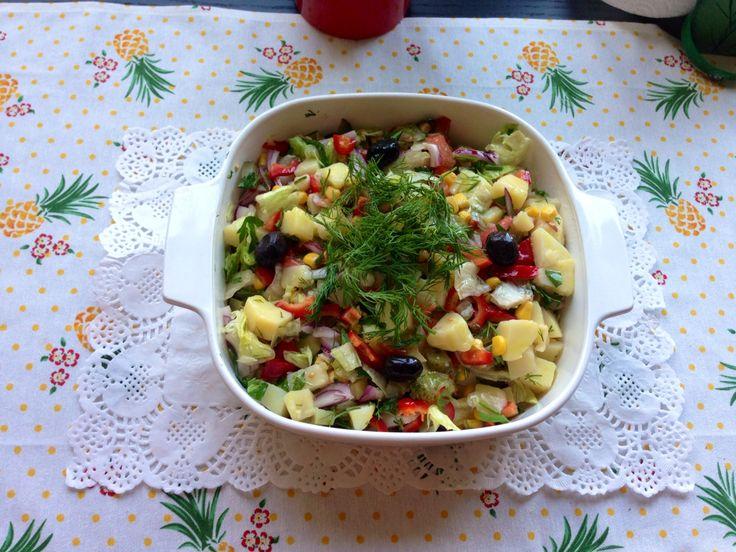 Patates salatam