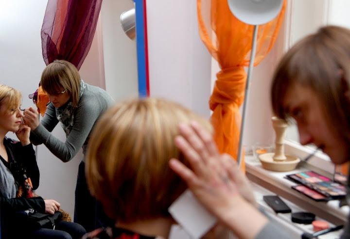 Warsztaty stylizacji i wizażu z Gośką Ciernioch i Aśką Werc. Foto: K Pictures /// www.kpictures.pl /// więcej na www.babilad.pl