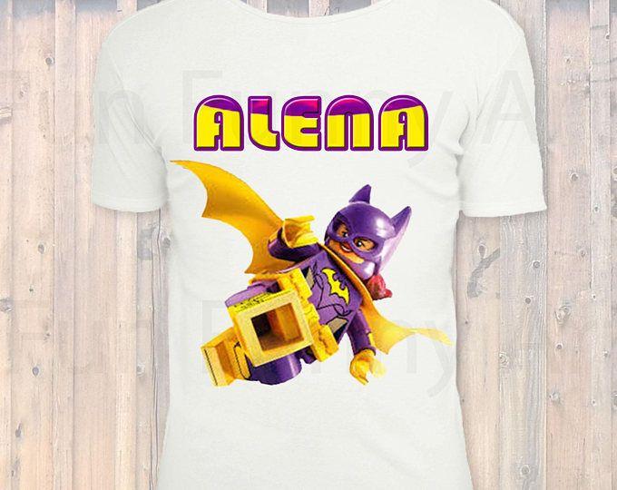 LEGO Batman Girl Birthday Shirt, Lego Character Tshirt, Lego Boys Or Girls Birthday Party,Iron On Transfer,Lego Batman Movie, DIGITAL FILE