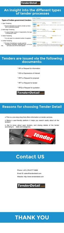 Looking to apply for Indian government tenders in different electrical, construction, IT, safety and security, power sector and any other department then tenderdetail may help you. It provides details of all public and government tenders in India online.