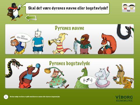 Hit med lyden er gratis. man øver bogstavernes navne og lyde på en rigtig fin måde. Det er Viborg kommune, der har udviklet appen.