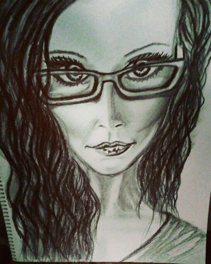 Moi! Personal drawing, Barbara Scott