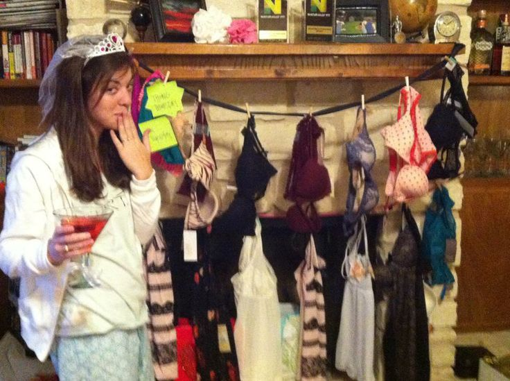 The 5 Best Bachelorette and Lingerie Party Games- from Homemade Hullabaloo