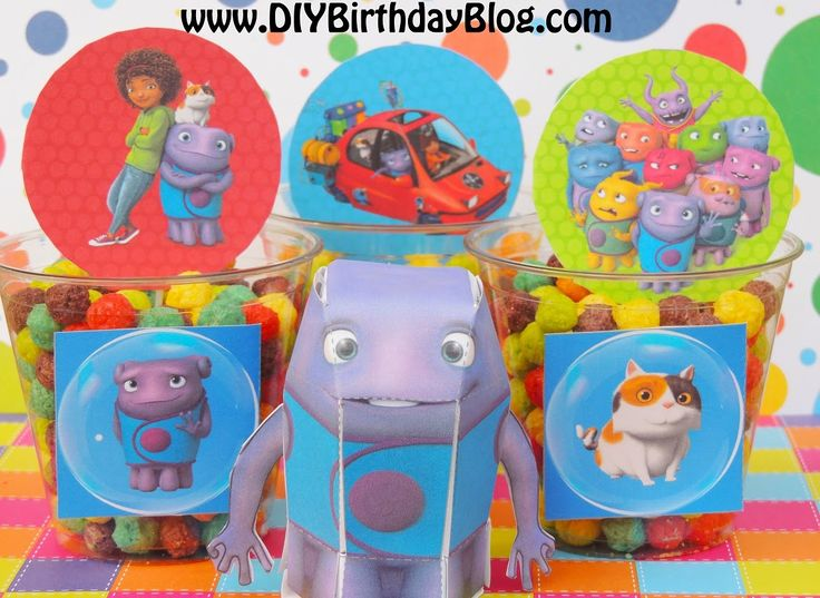 25 best Home Boov Party Supplies images on Pinterest Dreamworks