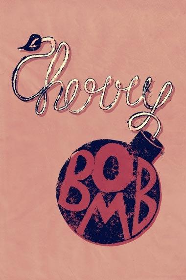 Cherry Bomb by The Runaways  Lyrical Print by LyricADay on Etsy, £1.00