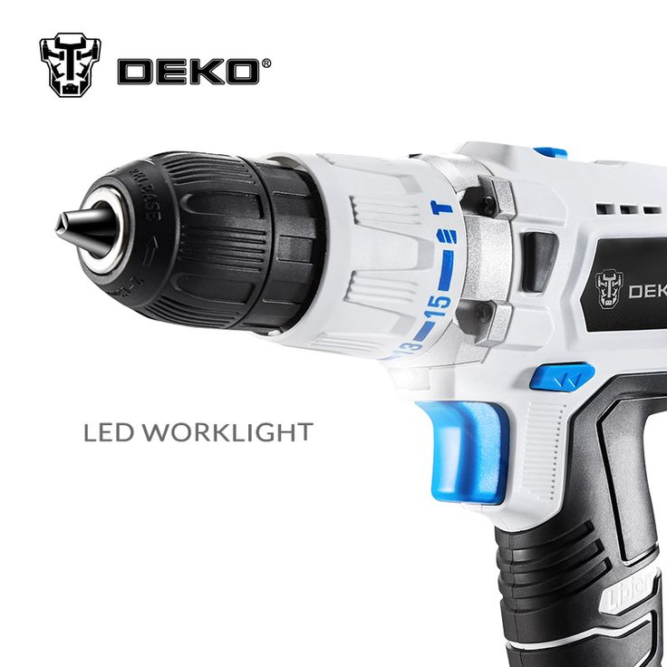 18V DC Power Supply Lithium-Ion Battery  Power Drill