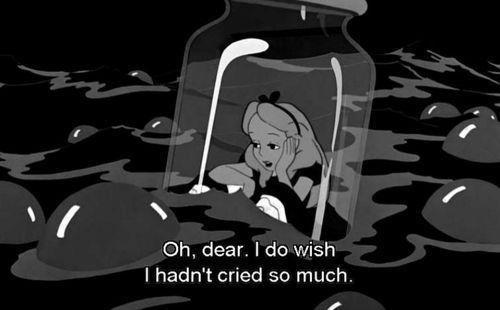Gostaria de não ter chorado tanto.. e por quem não merece....