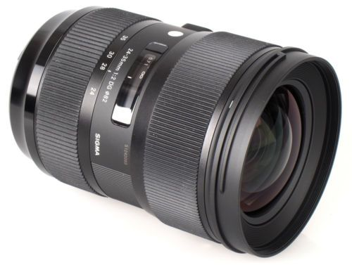 Sigma 24-35mm F2 DG HSM for Nikon USA Model Brand New