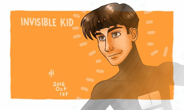 The Icecypher: DC Comics: Invisible Kid. [DC Showcase.]
