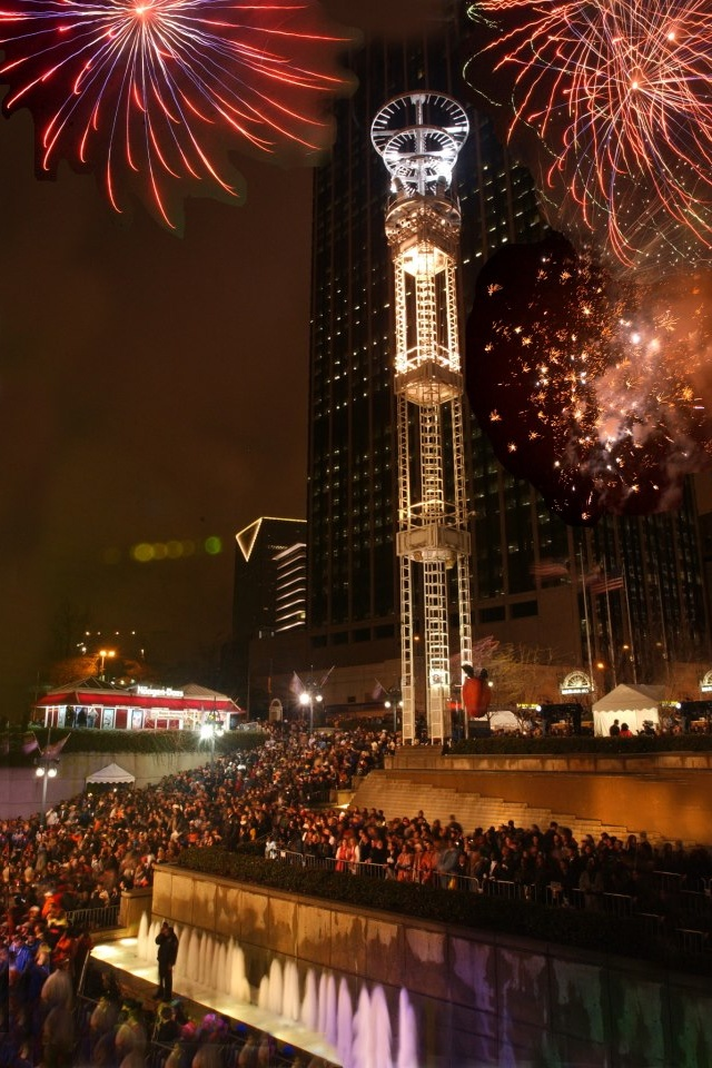 Atlanta - New Year's Eve | Atlanta, Forever On My Mind ...