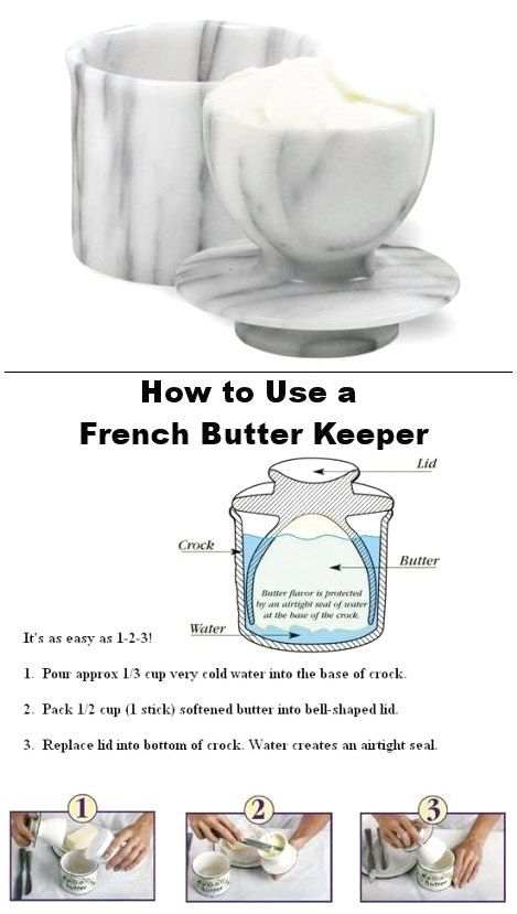 a399a4018 How to use a French Butter Keeper or Butter Bell  CeramicaStyles  Ceramica   Pottery click for more info.
