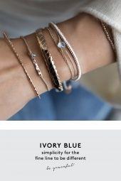 ivory blue rose blau aussergewoehnlich schmuck online kaufen